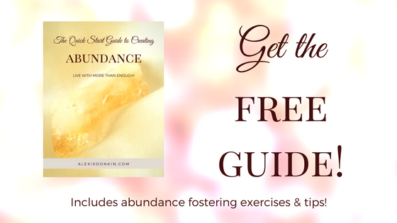 Get the Quick Start Guide to Creating Abundance!
