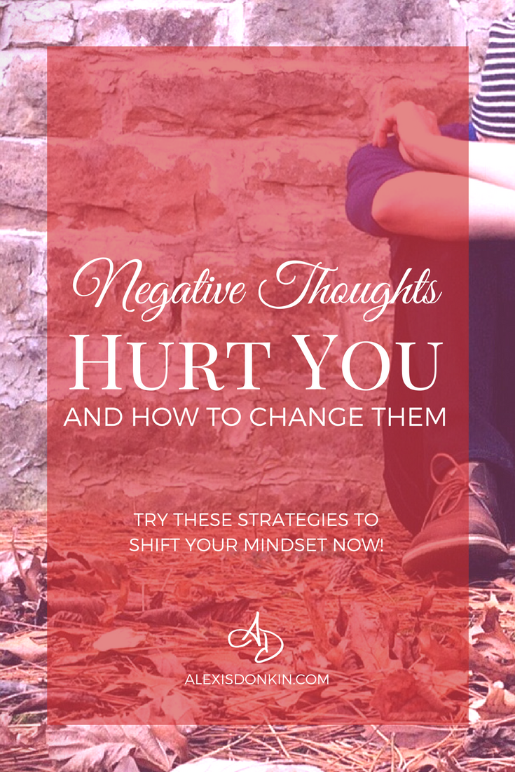 Negative thoughts hurt you - and how to change them!