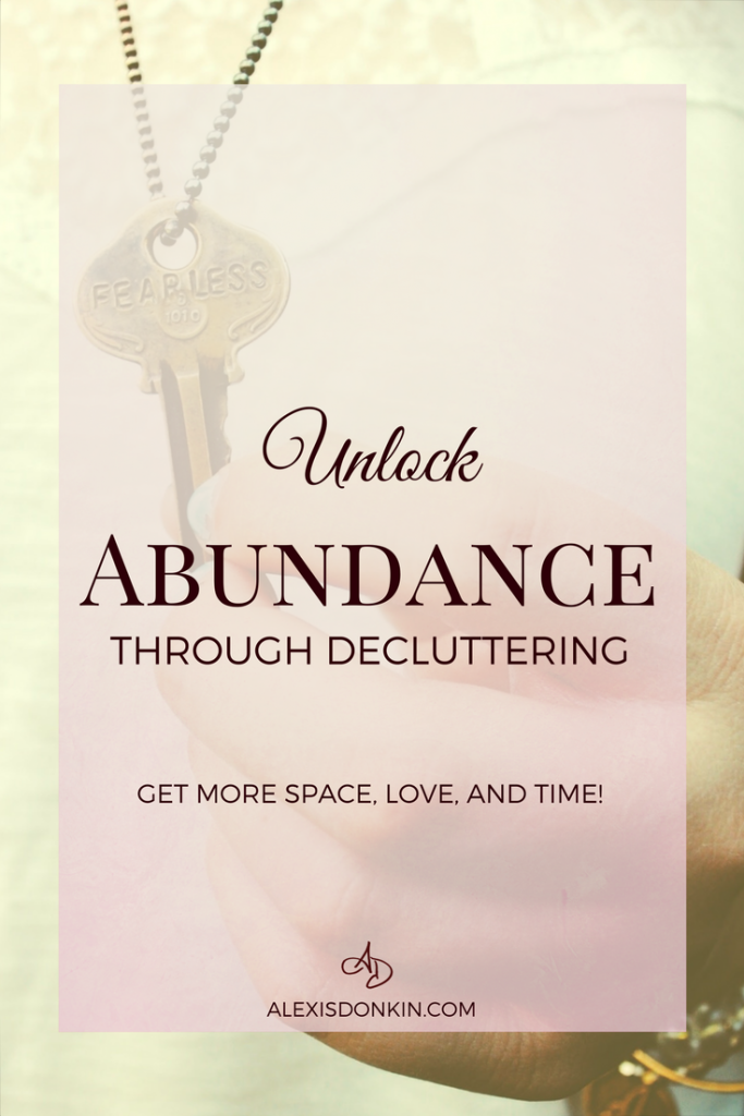 Unlock Abundance Through Decluttering!