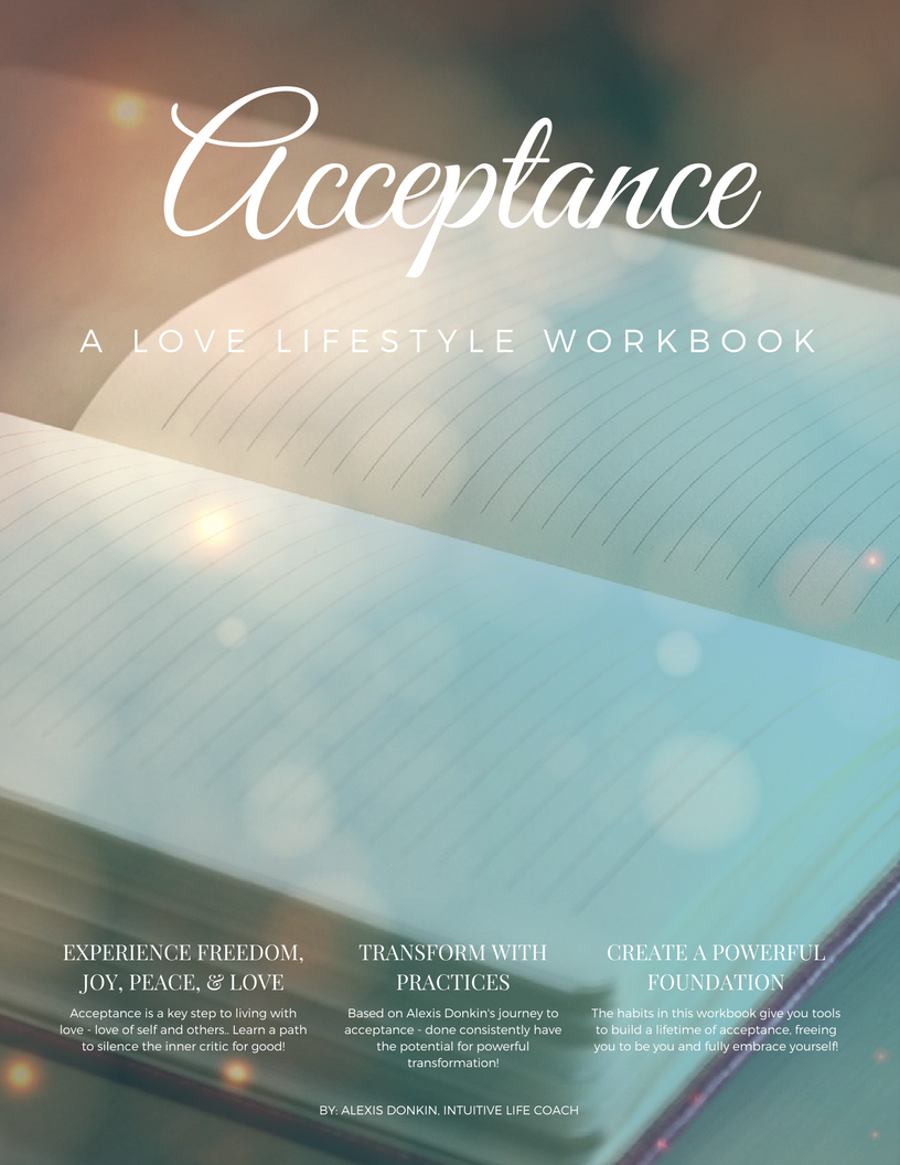 Acceptance: A Love Lifestyle Workbook – Alexis Donkin