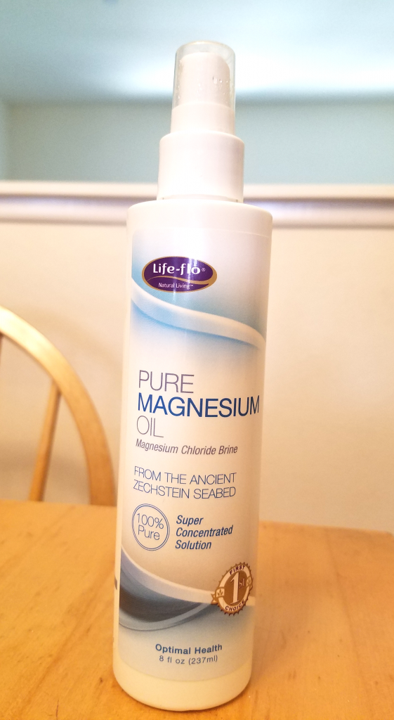 The magnesium oil that was a boost in a bottle!