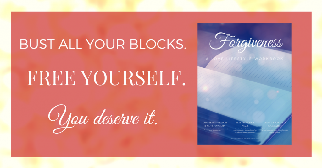Bust all your blocks, free yourself. You deserve it