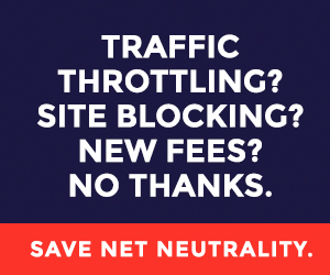 Save Net Neutrality - Battle for the Net