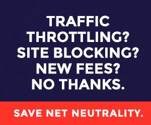 Save Net Neutrality - Battle for the Net