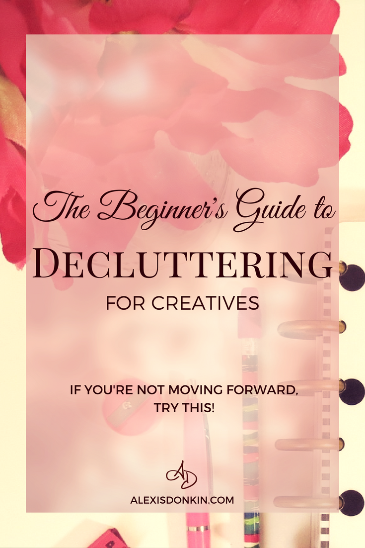 The Beginner's Guide to Decluttering for Creatives
