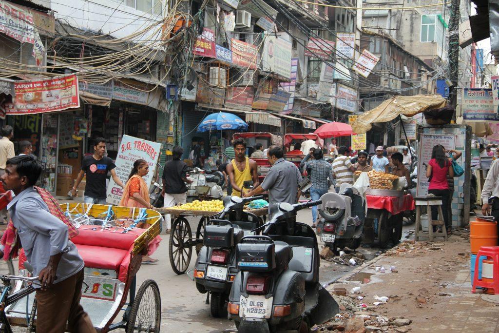 Delhi street (pixabay)